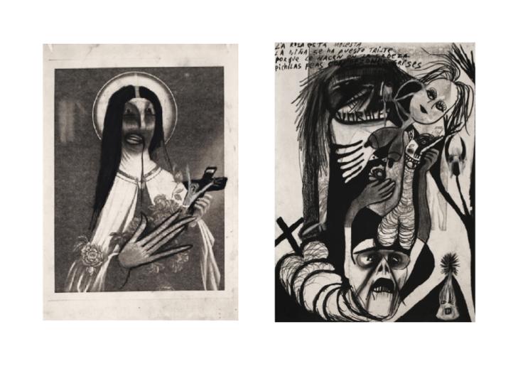 Devotional images / Estampas, 1982