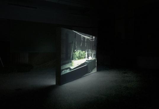 Eartquakes Installation view. Kyoto Art Center, 2017